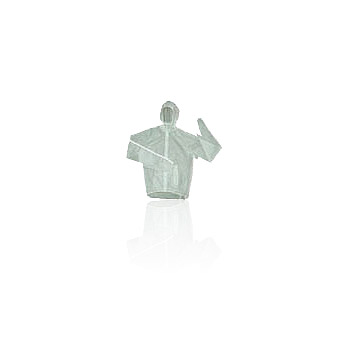rain jacket, TPU material at 125g/each, with 3M reflective material